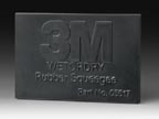 "3M 05518, Wet or Dry™ Rubber Squeegee 2"" x 3"""