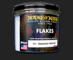 HOK F72.C01 Translucent Blue Green Flake 6oz.