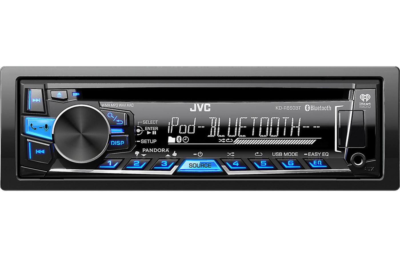 Jvc Kd R860bt Bluetooth Cd Usb Receiver on pioneer stereo wiring