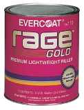 Evercoat Rage Gold Premium Lightwieght filler, 100112, .8 gallon ( 3 liters )