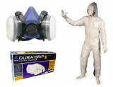 Paint Suits, Gloves, Dust Masks, Respirators & Fresh Air Systems