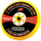 "6"" Quick Change Sanding Disc Pad, Velcro, Hook it, ATD 2076"