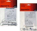 DeVilbiss Starting Line Rebuild Kit for Starting Line Mini detail HVLP spray guns series, 802426