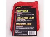 S. M. ARNOLD 3PK. WOVEN RED SHOP TOWELS, 85-761