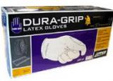 Gloves - Dura-Grip - Traditional General Purpose 8 mil Large Size Latex Gloves