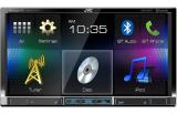 "JVC KW-V41BT Double Din 7"" Display Multimedia Receiver with Bluetooth"