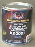"HOK KD3005 4Quart Blue Primer Kit With Activator, Reducer, 8"" 40grit Sandpaper & Tack Rag"